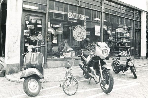 Scooterwinkel Hogewoerd